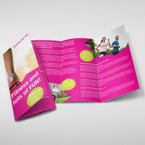 Matt Folded Brochures
