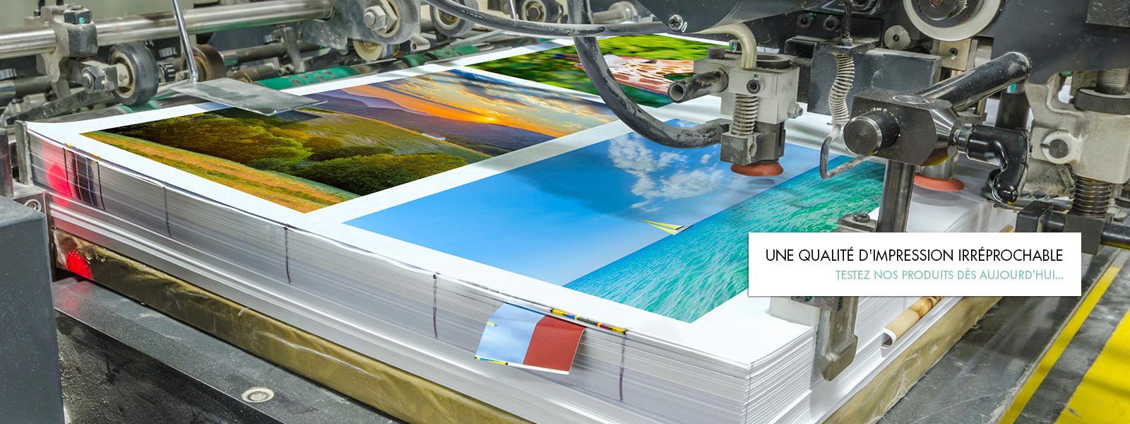 Testez nos produits d'imprimerie  dès aujourd'hui...