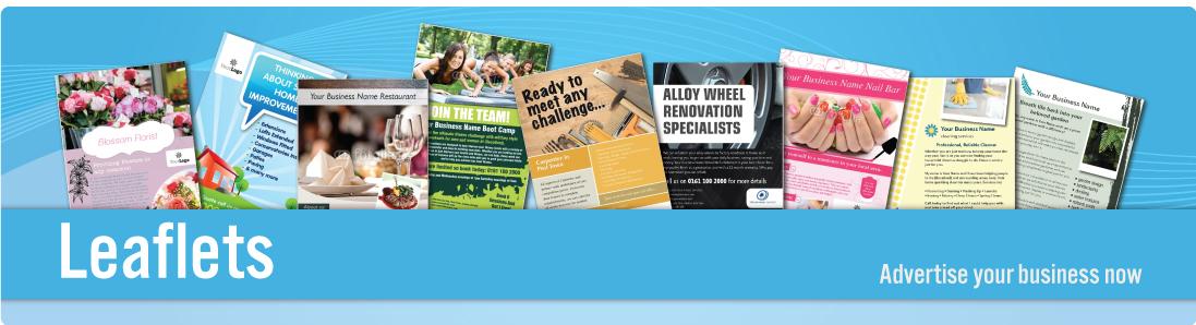 printed leaflets