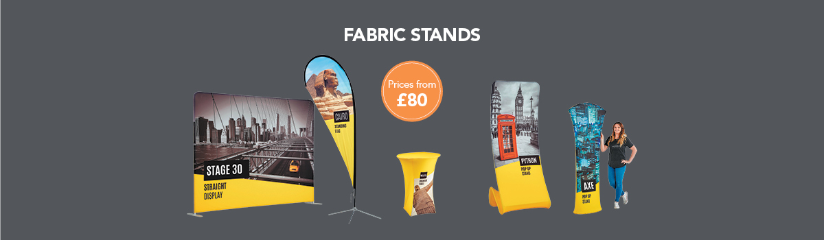 Fabric Stands from £80