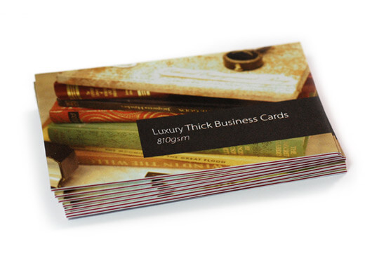 Triple Layer Luxury Thick Business Cards Coloured Core | www ...