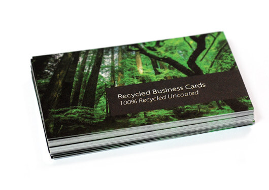 Recycled Business Cards Fast High Quality Printing | www ...