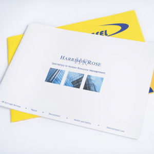 A4 Landscape Booklets : 150gsm Gloss