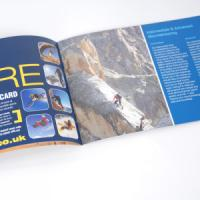 A5 Landscape Booklets : 115gsm Gloss
