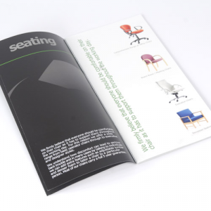 Brochures 1/3 de A4 : 150g brillant