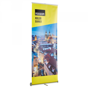 Periscope Roller Banner Stand and Poster