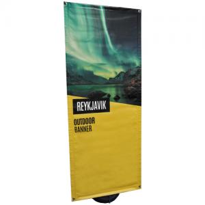 Reykjavik Outdoor Banner Stand