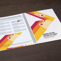 Brochure A4 spirale