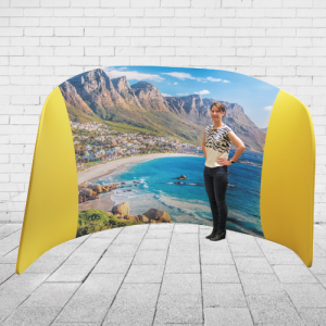 Stand mural Panoramique