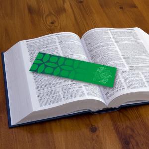 350gsm Silk Bookmarks