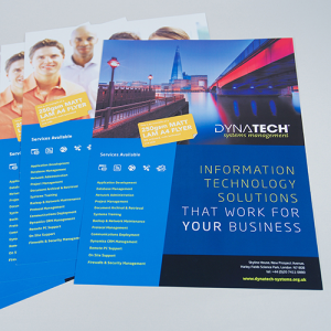 250gsm Matt Laminated Flyers