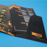 400gsm 2-panel M/Lam + SpotUV Peel & Stick Folders
