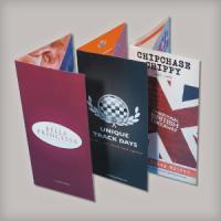 Medium weight card: Silk + folded