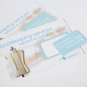 Luxury Showcards Creased or Shaped