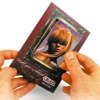 Premium Silk Showcards Creased or Shaped