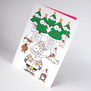 Cartes de Noël Ultra-Brillant