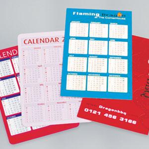 400gsm Matt Laminated Pocket Calendars