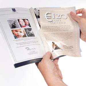 Brochures A5 avec coupons-réponse