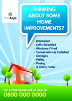 Home Maintenance A5 Leaflets - Front