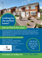 Estate Agents A6 Postcards - Front