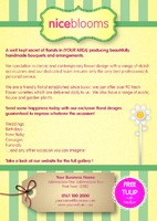 Garden Maintenance A5 Leaflets - Back