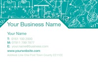 Technology Business Card  - Front