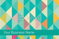 Technology Business Card  - Back